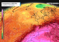 Meteo, scenari di caldo intenso sull'Italia tra fine luglio e agosto