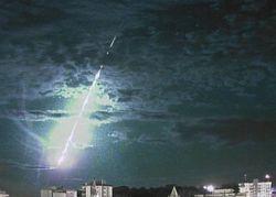 Meteoro cai próximo à costa do Rio Grande do Sul
