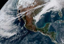 México dividido por marcados contrastes térmicos