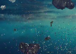 Microplásticos dañan el ciclo natural de nutrientes en los océanos