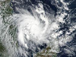 Mozambique otra vez azotada por un ciclón tropical