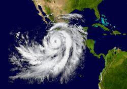 Amenaza de huracán para México