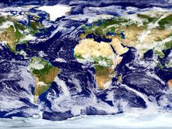 A circulação geral da atmosfera terrestre