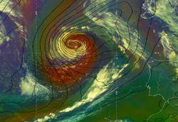 Oclusiones y seclusiones en Meteorología