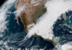 Masa de aire polar sobre la república mexicana