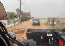 Unwetter: Heftige Überschwemmungen und Schlammlawinen!