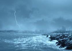 Patrones climáticos del Atlántico norte influenciados por el hombre