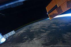 Perseidas desde la ISS-EEI