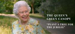 Plantar árboles para el jubileo de la reina Isabel II