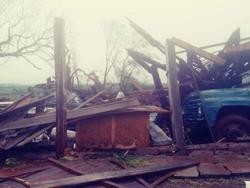 Possível tornado no Rio Grande do Sul gera estragos