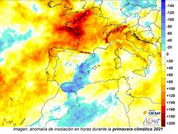 Primavera climática 2021 en la Comunidad Valenciana: fría y húmeda