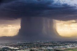 Probables lluvias torrenciales para el fin de semana
