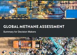 Publicación de la evaluación global de metano