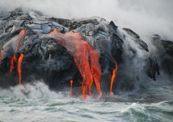 ¿Qué pasará cuando la lava llegue al océano Atlántico en La Palma?