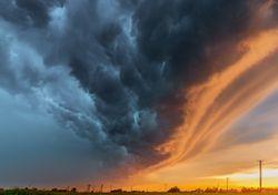 Come riconoscere i temporali più violenti ad occhio nudo