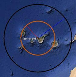 Retoman las obras del radar meteorológico de Teno, Tenerife