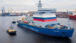 Rompehielos nucleares gigantes rusos para el Ártico