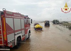 Sardegna in ginocchio: si contano i danni dopo l'alluvione nel cagliaritano