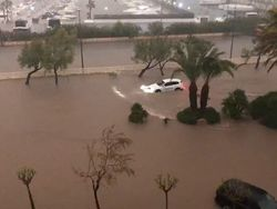 Torrential rain in Spain: Flooding in the Valencian Community