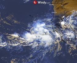 Se forma el Invest 90L, posible huracán Larry en el Atlántico central