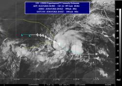 Se formó la tormenta tropical Blanca en el Pacífico Oriental