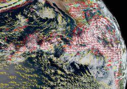 Se prevé un ciclón tropical frente a costas del Pacífico mexicano