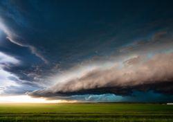 Semana corta e inestable, con lluvias, tormentas y ráfagas muy fuertes