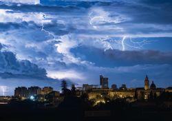Las tormentas violentas de estos días darán paso a una posible DANA