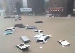 Imágenes dramáticas de las severas inundaciones en China