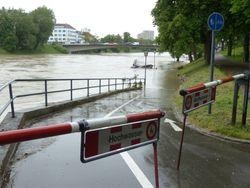 Sintflut in Süddeutschland - bis zu 270 Liter Regen