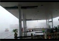 Temporal assusta moradores no estado do Rio de Janeiro