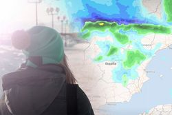 Tiempo esta semana: pasillo al viento del norte con nevadas