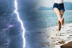 Tiempo esta semana: primero tormentas, después a la playa