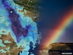 Tiempo de Jueves y Viernes Santo: lluvias intensas, ¿dónde?