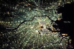 Tokio en la noche