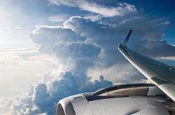 Topes nubosos observados por satélite y radar