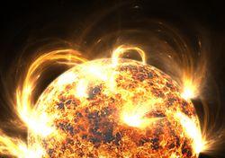 Tormentas solares e impactos: localizan fuente de partículas dañinas