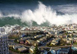 "Tsunami no Mediterrâneo pode estar ao ""virar da esquina"""