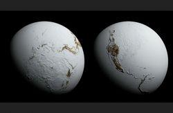 Un megavolcán y la Tierra