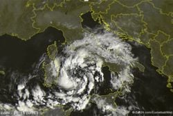 Un posible 'huracán mediterráneo' amenaza Cerdeña