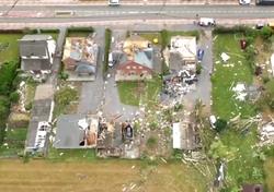Ein Tornado verwüstet eine Stadt in Belgien: Hier sind die Videos!