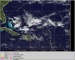 Andrea: ¿el primer ciclón tropical atlántico nombrado de 2019?