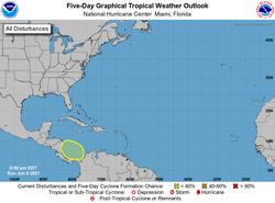 Una zona en el Caribe Occidental es vigilada ¿Bill a la vista?