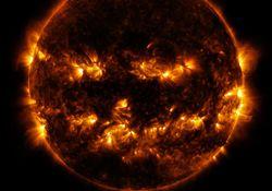 Como o vento solar afeta a Terra?
