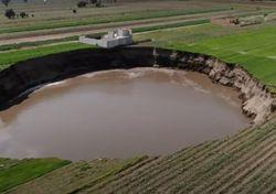 Mexique : un énorme trou dans le sol ne cesse de grandir !