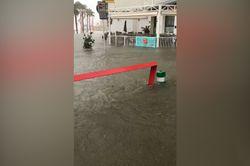 Vídeos: el posible récord de lluvia en una hora de Vinaròs