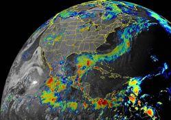 Vigilancia posibles ciclones tropicales en Atlántico y Pacífico