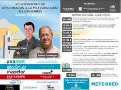 VII Encuentro de Aficionados a la Meteorología de Beniarrés