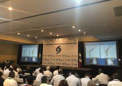 Visita Lixion Ávila seminario de huracanes en México