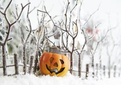 Will the UK really have a 'white Halloween'?